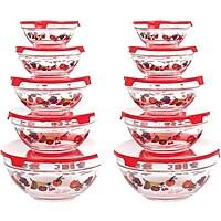 Chef Buddy 20-Piece Glass Bowl Set