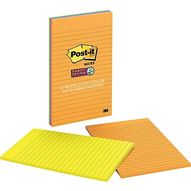 Post-it® Super Sticky Notes, 5