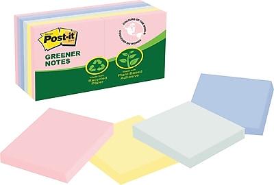 Post-it® Greener Notes, 3