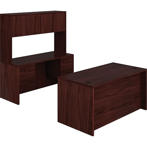 HON 10500 Series Compact Workstation, Desk, Credenza, Hutch, 60\