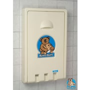 Koala Kare® Vertical Baby Changing Station, Cream