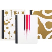 Cynthia Rowley Composition Book, College Ruled, Assorted Gold, 80 Sheets (26944)