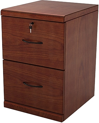 Z-Line 2 Drawer Vertical File, Cherry,Letter/Legal, 18.3''W (ZL2251-2CVU)