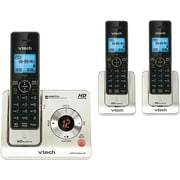 VTech® Cordless Phone With Answering System & 3 Handset, Black