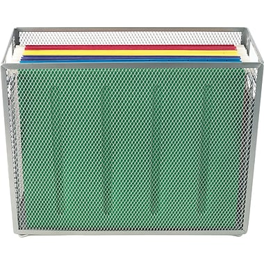 Staples® Silver Wire Mesh Tabletop File (26953)