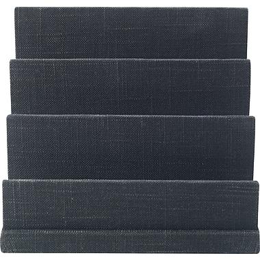 Staples Cloth Letter Sorter, Charcoal