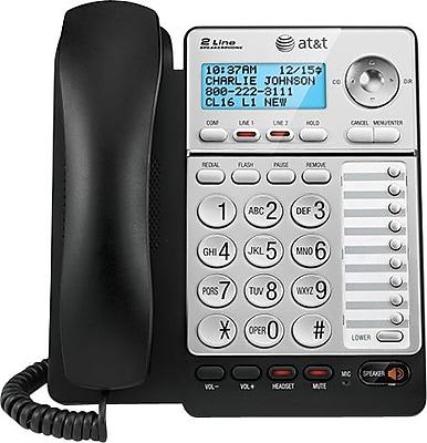 at t ml17928 2 line speakerphone staples rh staples com at&t 993 telephone manual att 992 phone manual - forward calls