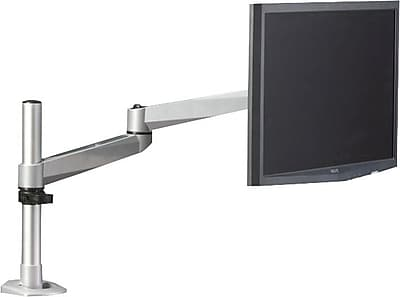 Hover 2 - Post Mount for 1 Monitor with 2 Extension Brackets