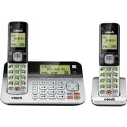 VTech CS6859-2 DECT 6.0 2-Handset Expandable Cordless Phone with Answering System & Dual Caller ID/Call Waiting