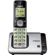VTech CS6719 DECT 6.0 Expandable Cordless Phone with Caller ID/Call Waiting, Silver with 1 Handset