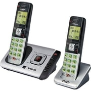 VTech CS6729 2 DECT 6.0 Cordless Answering System, With 2 Handsets and Caller ID by