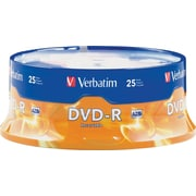 Verbatim® DVD-R 4.7GB, 16x, 25-Pack Spindle