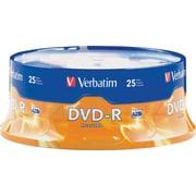 Verbatim® – DVD-R 4,7 Go 16x, paq./25 unités