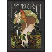 Peter Pan Framed Wall Art with Postage Stamp