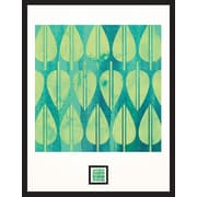 World Environment Day Framed Wall Art with Postage Stamp