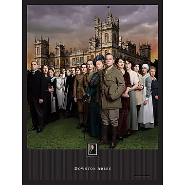 Downton Abbey Season 2 Framed Wall Art with Postage Stamp