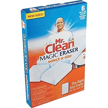 Mr. Clean® Magic Eraser Select-A-Size, 6/Pack