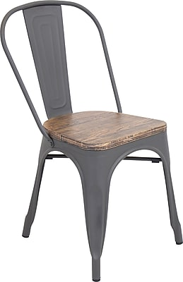 Bon LumiSource Oregon Dining Chair Wood And Metal