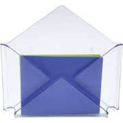 Staples Acrylic Purple Edge Envelope Wall File