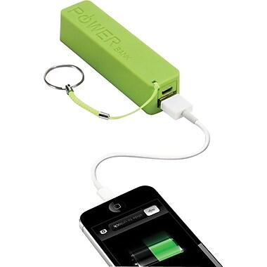 Urge Basics PowerPro 2,000mAh USB Keychain Charger, Green