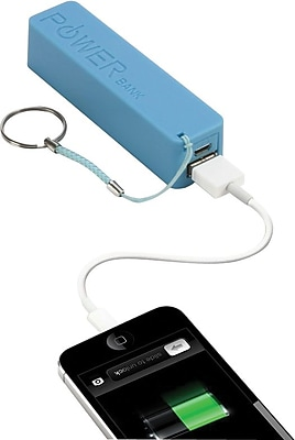 Urge Basics PowerPro 2,000mAh USB Keychain Charger, Blue