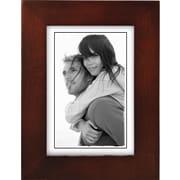 "Malden Classic Linear Wood Picture Frame, Dark Walnut, 3 1/2"" x 5"""