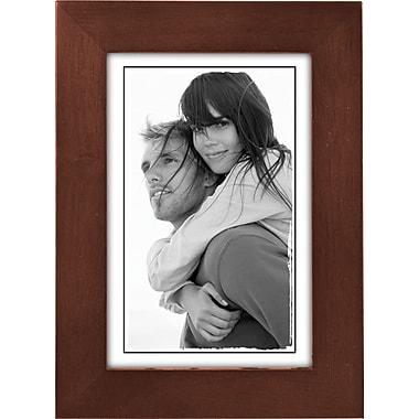 Malden Classic Linear Wood Picture Frame, Dark Walnut, 4