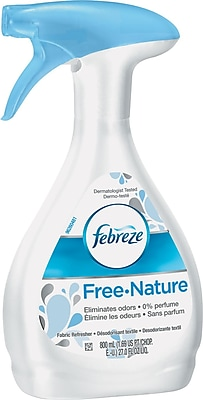 Fabric Refresher & Odor Eliminator, Free/unscented, 27