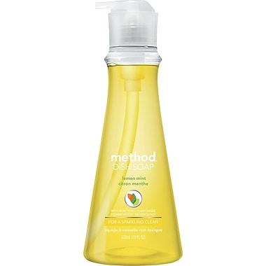 Dish Soap Pump, Lemon Mint, 18 Oz Pump Bottle