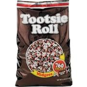 Tootsie Roll® Midgees®, 5 lbs, Chocolate