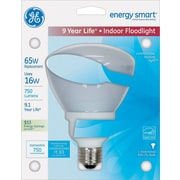 Energy Smart Indoor Floodlight Fluorescent Light Bulb, R30, 750 Lm, Soft White