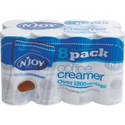 N'Joy Non-Dairy Coffee Creamer, 16 oz, Original, 8/Carton (827783)