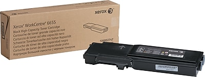 Xerox WorkCentre 6655 Black Toner (106R02747), High Yield