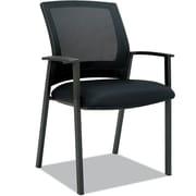 Es Series Mesh Stack Chairs, Black, 2/Ct