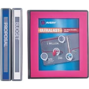 "Avery Ultralast Binder with 1"" One Touch Slant Rings, Blue (79740)"