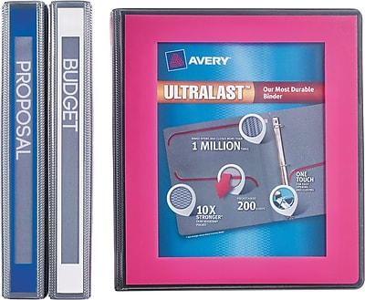 Avery(R) Ultralast(TM) Binder with 1