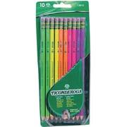 Pre-Sharpened Pencil, Hb, #2, Assorted Color Barrels, 10 Per Set
