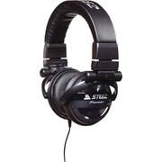 Pioneer Steez Dubstep Headphones with Microphone, Black