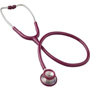 MABIS® Signature® Series Stainless Steel Adult Stethoscope, Burgundy