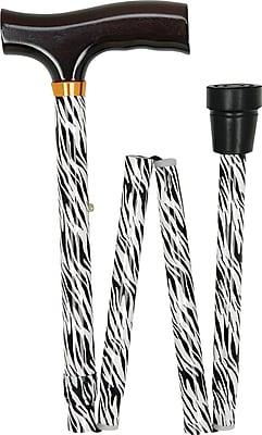 DMI Designer Folding Canes-Zebra Print