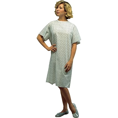 DMI® Convalescent Gown with Back Tape Ties, Print
