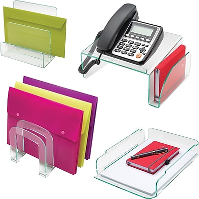 Lorell® Acrylic Desk Accessories Collection