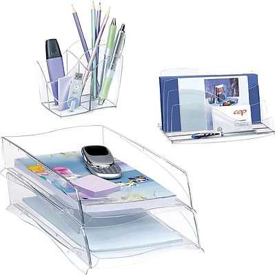 Greenside Ellypse Desk Accessories Collection