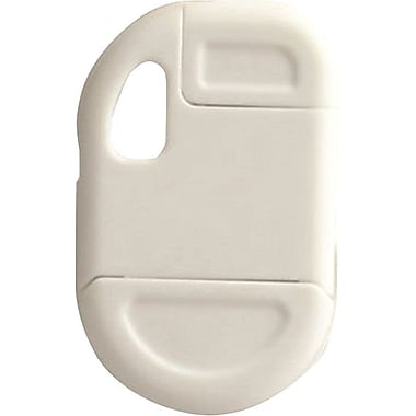 FOB iPhone & iPod 30 Pin Cable Keychains, White
