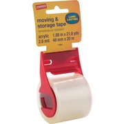 """Staples® 1.9"""" x 21.8yds Packaging Tape, Clear, 1 Roll (ST-ASR)"""