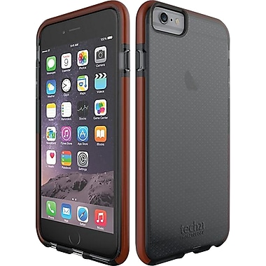 Tech21 Impact Mesh iPhone 6 Plus Fitted Hard Shell Case, Smokey