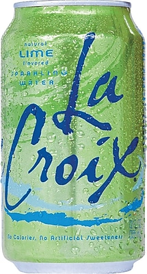 LaCroix® Lime Sparkling Water, Pack of 24 (NAV40125/65434)