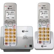 AT&T EL51203 DECT 6.0 Expandable Cordless Phone with Caller ID/Call Waiting, Silver, 2 Handsets