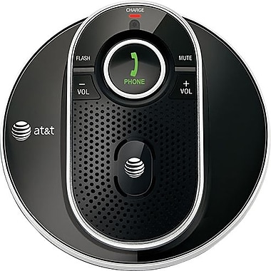 AT&T TL80133 DECT 6.0 Cordless Accessory Speakerphone, Black
