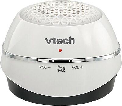 VTech MA3222-17 Portable Bluetooth Wireless Speaker, White